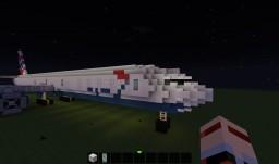 Boeing 777-300ER British Airways (OUTDATED) Minecraft Map & Project