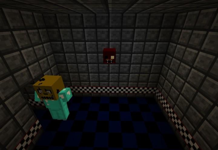 Five Nights At Freddys Minecraft Map Minecraft Project - Minecraft fnaf spielen
