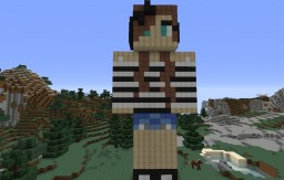 Skin Statue Minecraft Map & Project
