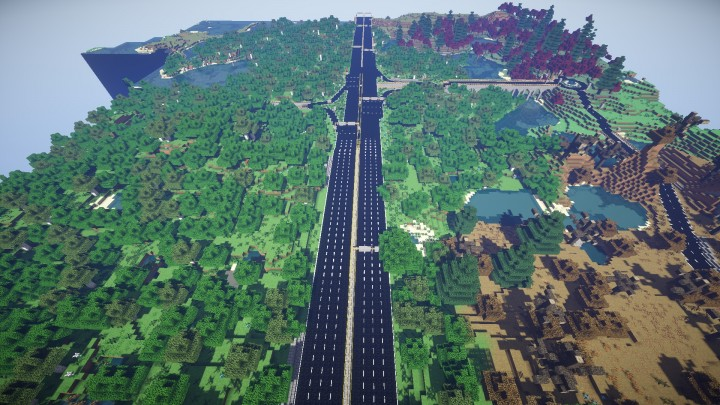[ℳᎯ℘] Roads in Minecraft - дорога в Minecraft