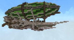 Steampunk Elven Ship Minecraft Map & Project