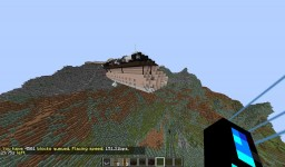 Airship/Aircraft Carrier Columbia Mk.II Minecraft Map & Project