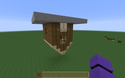 Upside down house Minecraft Map & Project