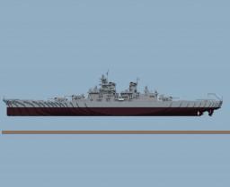 USS BB-61 Iowa Minecraft
