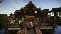 A Stilt House Restaurant In Little Debaria [DOWNLOAD] Minecraft Map & Project