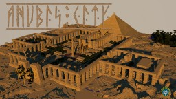 Ancient Anubis City Minecraft Project
