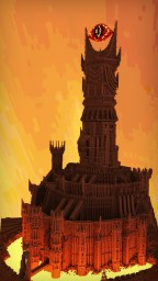 Barad Dur - Sauron's Fortress Minecraft Map & Project