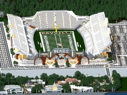 Bayview Heights NFL Stadium Minecraft Map & Project