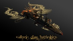 Valkyrie Class Battleships Minecraft Map & Project