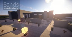 Sands - Modern House Minecraft Map & Project