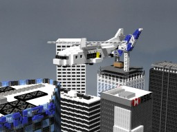 Q Corp - Helicopter | Cubed | Minecraft Map & Project
