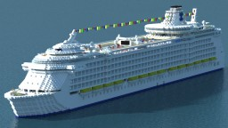 The Emerald of the Seas (cruise ship) Minecraft Map & Project