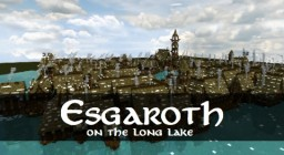 Esgaroth - Settlement on the Long Lake Minecraft