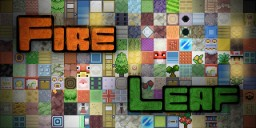 [1.8] Fire Leaf [16x] Minecraft Texture Pack