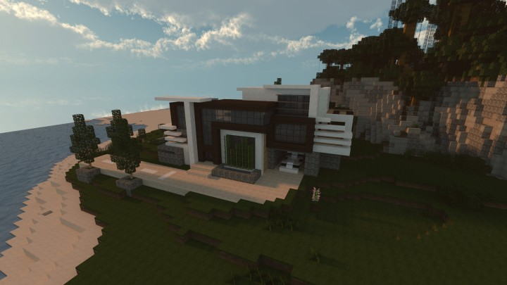 Front View Render and Thubnail of my Timelapse Mansion