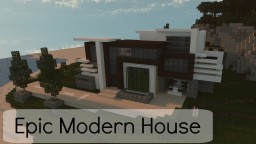 Modern House N°1 | Timelapse Project Minecraft Map & Project