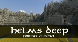 Helm's Deep - Fortress of Rohan Minecraft