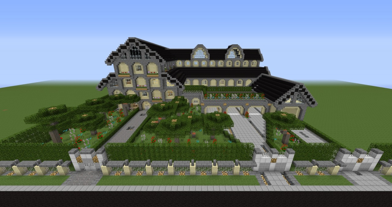 Project details - Minecraft villa ...