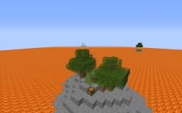 Lava Island Survival Minecraft Map & Project