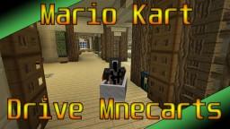 Mario Kart / Drive Minecarts in Vanilla MC [with download]