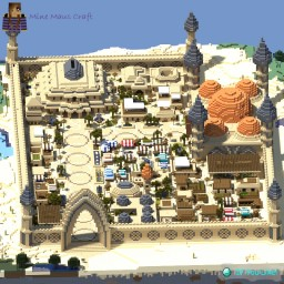 Cressia, An Ancient Arabian City. Minecraft