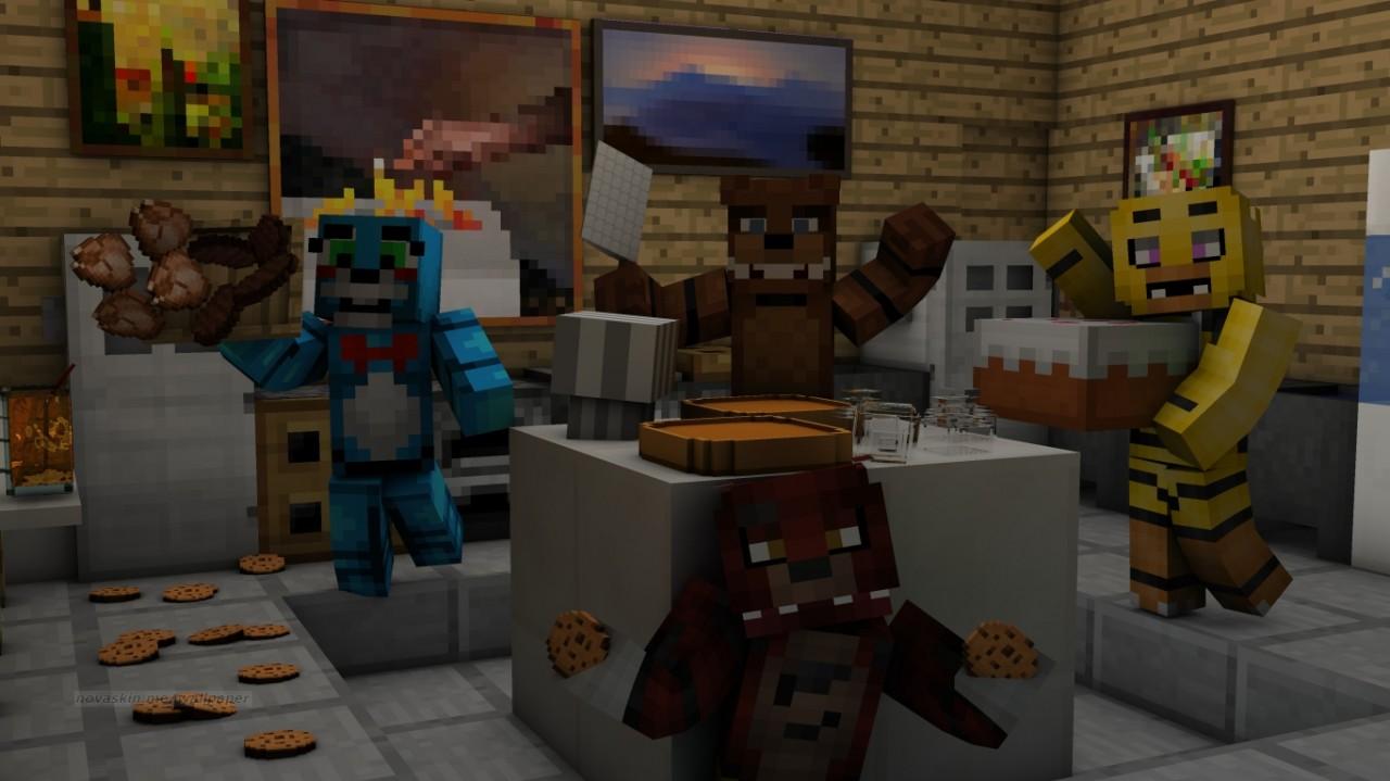 Why Does Everyone Have FNAF Skins Minecraft Blog - Skin para minecraft 1 8 8 pirata