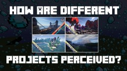 How are Different Projects Perceived? | Feedback Theory Minecraft Blog