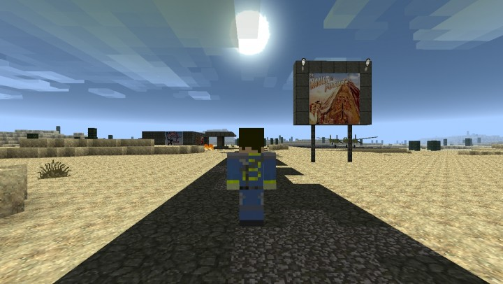 Post Apocalypyic Wasteland (Fallout Modpack) Minecraft Project