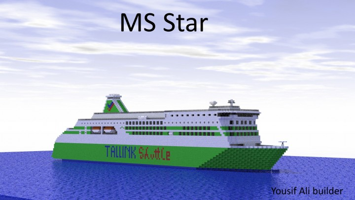 Ms Star (Tallink Shuttle) Minecraft Project