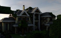 Colonial Estate [Mansion] Minecraft Project