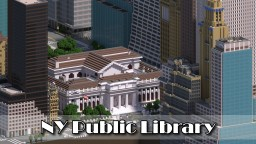NY Public Library, Bryant Park, Manhattan, New York City