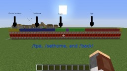 Vanilla Server Commands: /tpa, /sethome, and /back