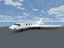 Gulfstream G650 Business jet 1:1 scale Minecraft Project
