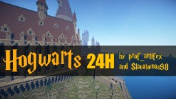 Hogwarts built in 24h! Minecraft