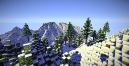 Small Snow Mountain Range Minecraft Map & Project