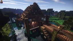 A Stilt House School In Little Debaria [DOWNLOAD] Minecraft Project
