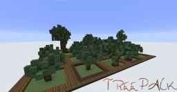 【Simple Tree Pack】 Minecraft Map & Project