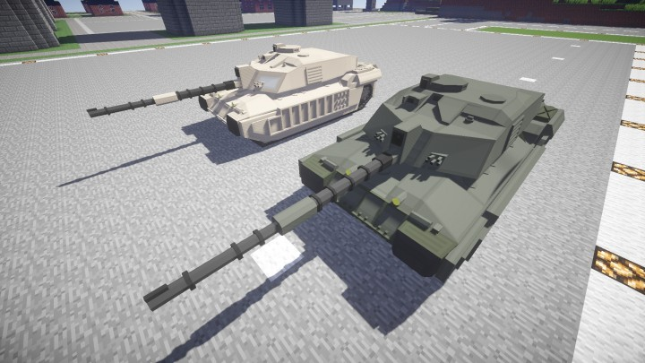 FV4034 Challenger II MBT in two colours
