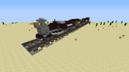 Western Steam Train Minecraft Map & Project