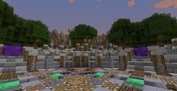 (FREE) 8-portal Server hub Minecraft Map & Project