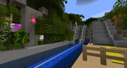 Jurassic Park River Adventure Universal Studios Orlando, Florida Minecraft Map & Project