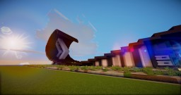 Abstract Modern Experimental House Minecraft Project