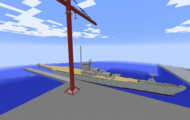 Incompleted USS Missouri