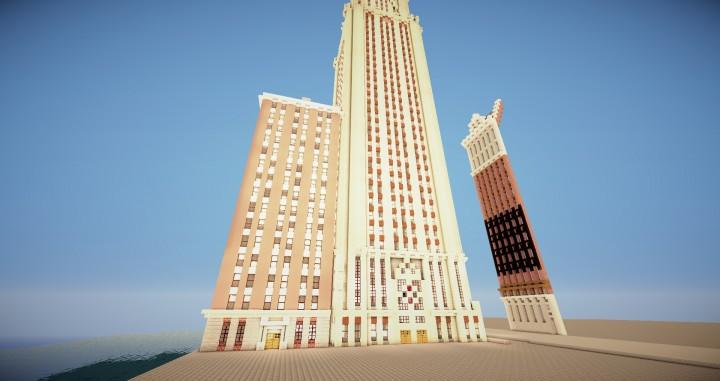 Gothic Artdeco Skyscraper Minecraft Project