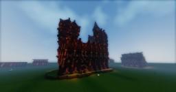 Fancy Large Dark Oak Building Minecraft Project
