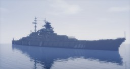 German Battleship: Bismarck Minecraft