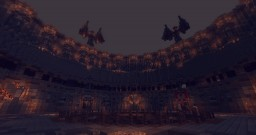 Gladiator Arena (Team Deathmatch) Minecraft Map & Project