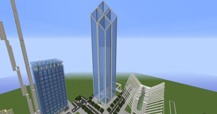 Two world trade center minecraft project for 2 world trade center