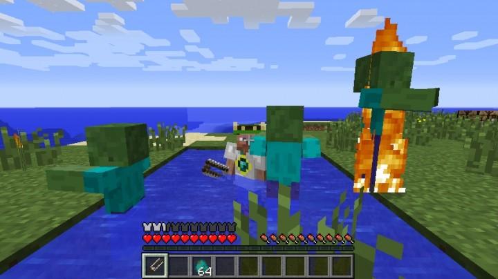 Flans Mod на Minecraft 1.5.2/1.6.4/1.7.2/1.7.10.