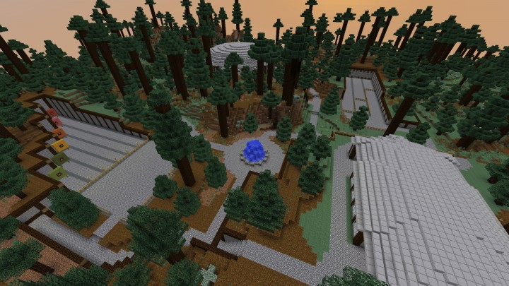Pvp related arenas and archery ranges